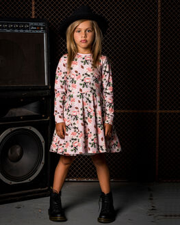 PALE PINK KIDS GIRLS ROCK YOUR KID DRESSES + PLAYSUITS - TGD1966-SCPPNK