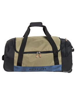 BURNT OLIVE MENS ACCESSORIES QUIKSILVER BAGS + BACKPACKS - EQYBL03177-GPZ0