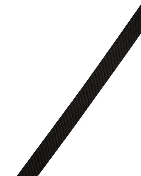 BLACK MENS ACCESSORIES GOOD WORTH BELTS - ASB1811BLK