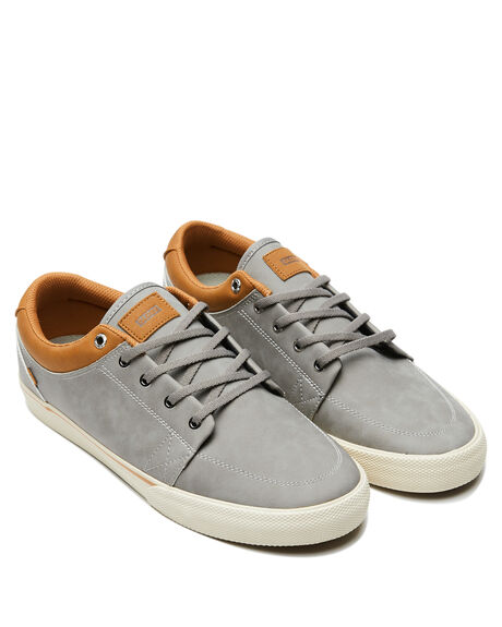 GREY MOCK ANTIQUE MENS FOOTWEAR GLOBE SKATE SHOES - GBGSGRYMK