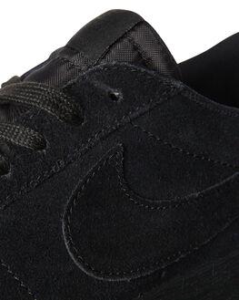 BLACK BLACK MENS FOOTWEAR NIKE SKATE SHOES - 864347-004