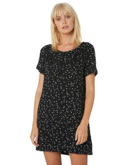 BLACK WOMENS CLOTHING VOLCOM DRESSES - B1331979BLK