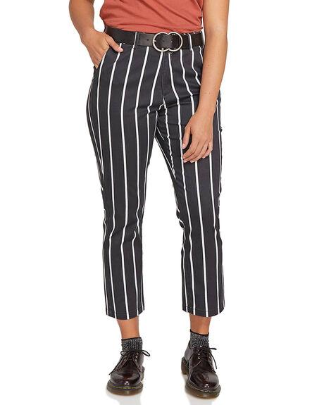 STRIPE WOMENS CLOTHING VOLCOM PANTS - CB1131809STP