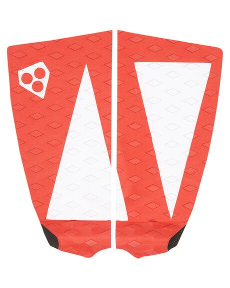 THIS WAY BOARDSPORTS SURF GORILLA TAILPADS - 27690REDWH