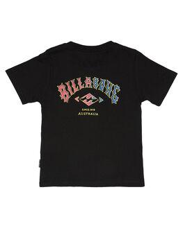 BLACK KIDS TODDLER BOYS BILLABONG TEES - 7581004BLK