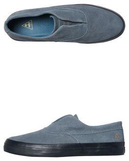 BLUE STONE MENS FOOTWEAR HUF SLIP ONS - VC00013BLU