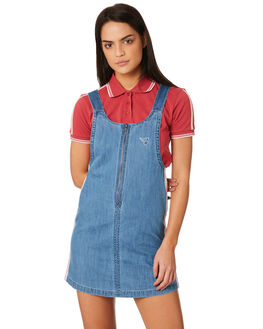 LIGHT WASH WOMENS CLOTHING ELEMENT PLAYSUITS + OVERALLS - 283864LWA