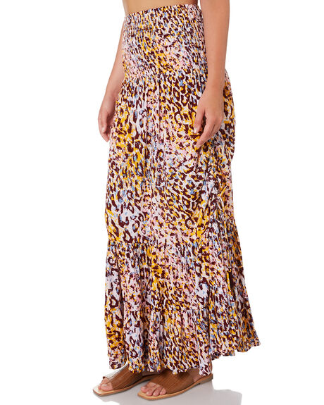 LEOPARD WOMENS CLOTHING TIGERLILY SKIRTS - T305443LEO