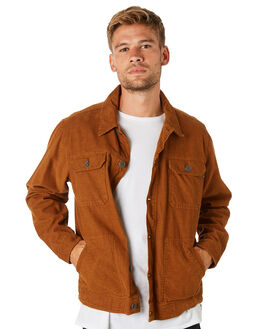 TOBACCO MENS CLOTHING BILLABONG JACKETS - 9595919TOBAC