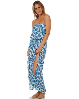 INK BLUE WOMENS CLOTHING RUSTY DRESSES - DRL0948IBE