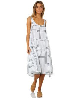 VALERY CHECK WOMENS CLOTHING SANCIA DRESSES - 694ACHECK
