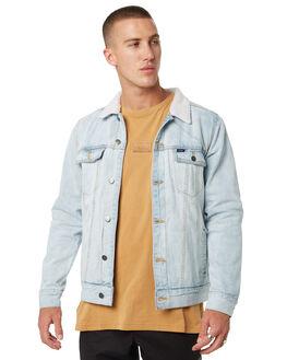BLEACH MENS CLOTHING RVCA JACKETS - R183445BLEACH