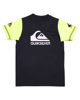 BLACK SAFETY YELLOW BOARDSPORTS SURF QUIKSILVER TODDLER BOYS - UQKWR03038XKKG