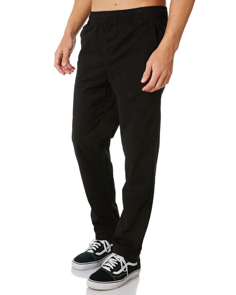 BLACK MENS CLOTHING SWELL PANTS - S5183192BLACK