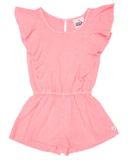 NEON PINK KIDS TODDLER GIRLS EVES SISTER DRESSES + PLAYSUITS - 8021032PNK