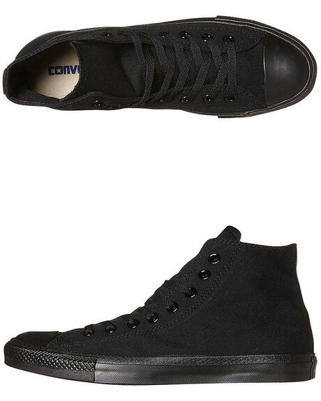 fb5e073e0393a3 Converse Womens Chuck Taylor All Star Hi Top Shoe - Black Monochrome ...