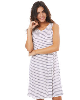 MALLOW IRREGULARY WOMENS CLOTHING ROXY DRESSES - ERJKD03151WBT5