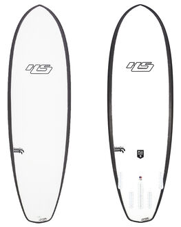 WHITE BLACK BOARDSPORTS SURF HAYDENSHAPES FUNBOARD - HSPLUNDERFFLWHTBK