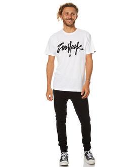 WHITE MENS CLOTHING ZOO YORK TEES - ZY-MTB7005WHT