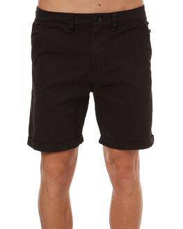 BLACK MENS CLOTHING RUSTY SHORTS - WKM0891BLK