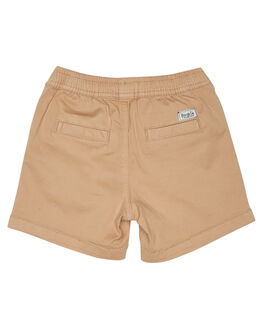 COFFEE KIDS TODDLER BOYS ROOKIE BY THE ACADEMY BRAND SHORTS - R19S606COF
