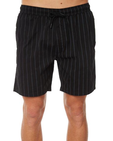 BLACK MENS CLOTHING NO NEWS SHORTS - N5183231BLACK