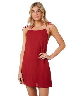 RED WOMENS CLOTHING SWELL DRESSES - S8184446RED