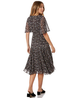 KABUKI FLORAL WOMENS CLOTHING STEVIE MAY DRESSES - SL190510DKABFL