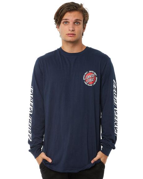 NAVY MENS CLOTHING SANTA CRUZ TEES - SC-MLA8827NVY
