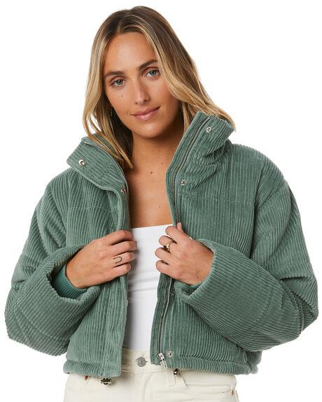 SEAWEED CORD WOMENS CLOTHING COOLS CLUB JACKETS - 515-CW6SEAW