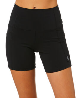 BLACK WOMENS CLOTHING LORNA JANE ACTIVEWEAR - LB0297BLK