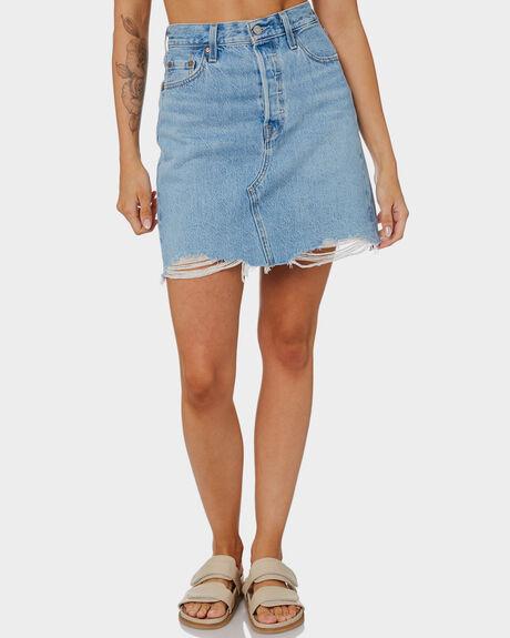 LUXOR HEAT WOMENS CLOTHING LEVI'S SKIRTS - 77882-0040
