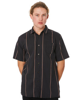 BLACK MANGO MENS CLOTHING ZANEROBE SHIRTS - 300-RSPBLKMG