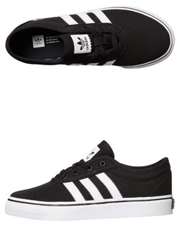 BLACK WHITE KIDS BOYS ADIDAS ORIGINALS SNEAKERS - BY4071BLK
