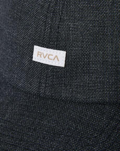 BLACK MENS ACCESSORIES RVCA HEADWEAR - R305572ABLK