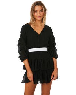 BLACK WOMENS CLOTHING MLM LABEL DRESSES - MLM360BBLK