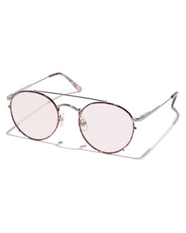 ESPRESSO SILVER UNISEX ADULTS CRAP SUNGLASSES - 171WB80GOZESPRE