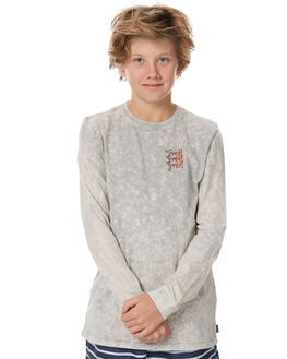 GREY ACID KIDS BOYS SWELL TEES - S3174100GACID
