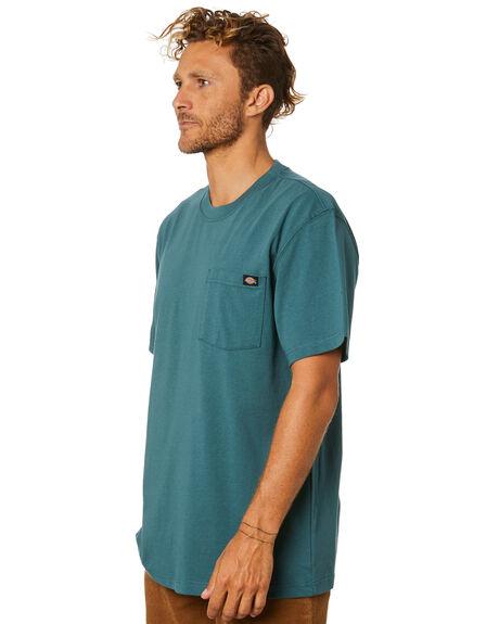LINCOLN GREEN MENS CLOTHING DICKIES TEES - WS450LN