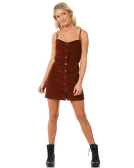 RUST WOMENS CLOTHING RVCA DRESSES - R281764R24