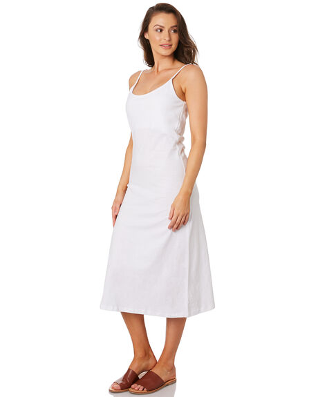 WHITE WOMENS CLOTHING ZULU AND ZEPHYR DRESSES - ZZ2827WHT