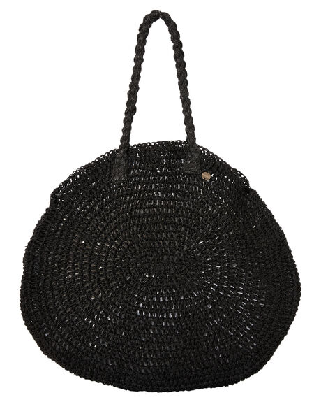 BLACK WOMENS ACCESSORIES SEAFOLLY BAGS + BACKPACKS - 71643-BGBLK