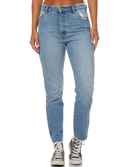 90S BLUE WOMENS CLOTHING ROLLAS JEANS - 12295829