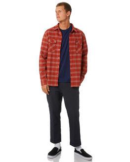 HENNA MENS CLOTHING BRIXTON SHIRTS - 01000HENNA