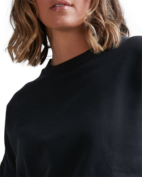 BLACK WOMENS CLOTHING BILLABONG JUMPERS - BB-6517202-BLK