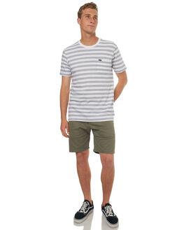 ANTIQUE WHITE MENS CLOTHING RVCA TEES - R372042AWHT