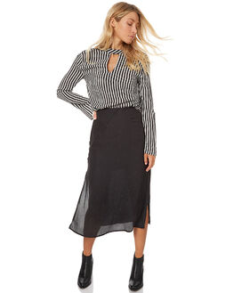 BLACK WOMENS CLOTHING THE FIFTH LABEL SKIRTS - TX170429SKBLK
