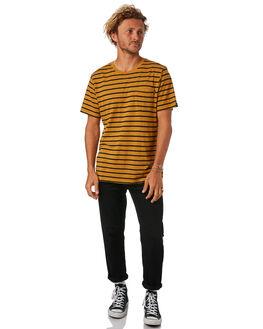 MUSTARD MENS CLOTHING AFENDS TEES - M183019MSTRD