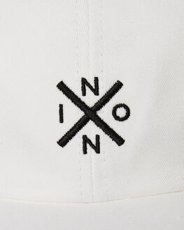 WHITE BLACK MENS ACCESSORIES NIXON HEADWEAR - C2784-127