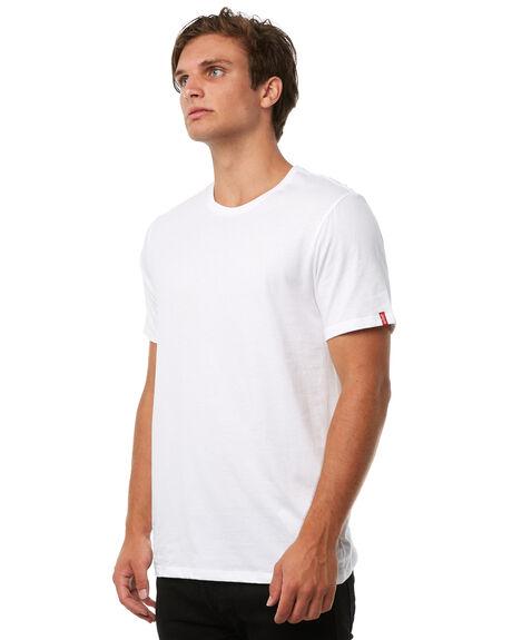 WHITE MENS CLOTHING LEVI'S TEES - 82176-0002